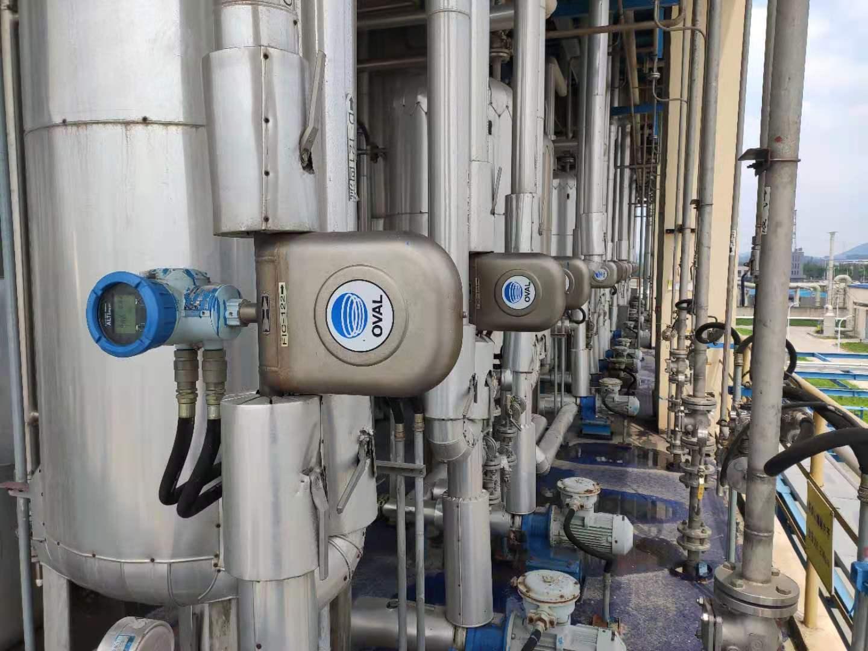 化工场合用质量流量计组合